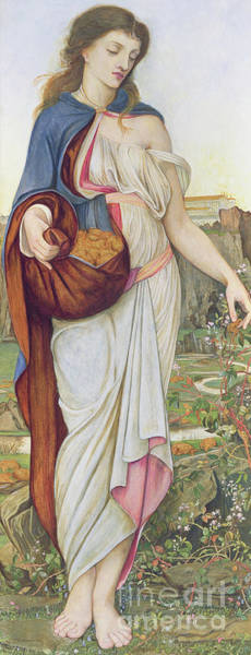Wall Art - Painting - The Task Of The Golden Fleece by John Roddam Spencer Stanhope