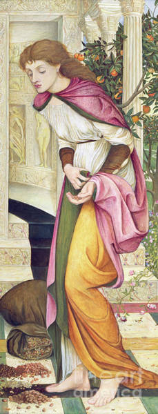 Wall Art - Painting - The Task Of The Seeds by John Roddam Spencer Stanhope