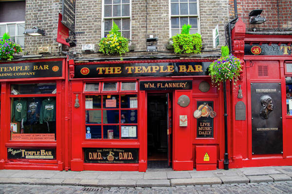 Photograph - The Temple Bar - Wm Flannery by Bill Cannon