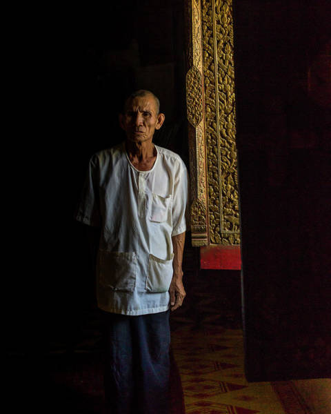 Photograph - The Temple Key Master by Kevin Davis