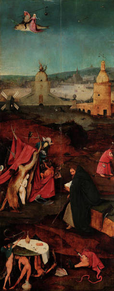 Wall Art - Painting - The Temptations Of St Anthony, Right Panel, 15th Century by Jheronymus Bosch