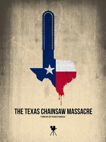 Wall Art - Digital Art - The Texas Chainsaw Massacre by Naxart Studio