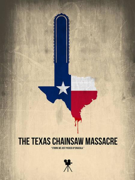 Wall Art - Digital Art - The Texas Chainsaw Massacre by Naxart Studio