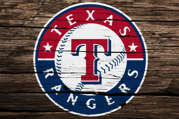 The Texas Rangers 3a Art Print
