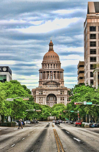 Wall Art - Photograph - The Texas State Capitol Building # 3 by Allen Beatty