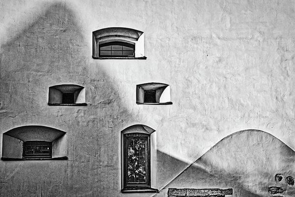Photograph - The Thick Tower - Sibiu Romania by Stuart Litoff