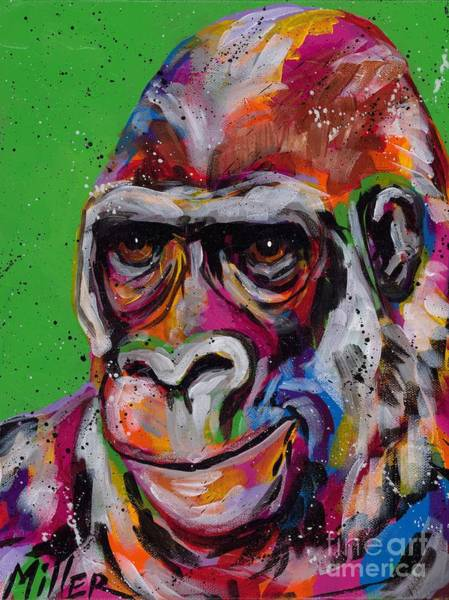Wall Art - Painting - The Thinker by Tracy Miller