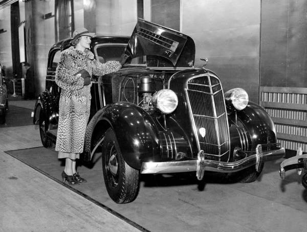 Annual Photograph - The Thirty Fifth Annual Auto Show At by New York Daily News Archive