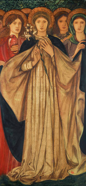 Wall Art - Painting - The Three Marys by Edward Burne-Jones