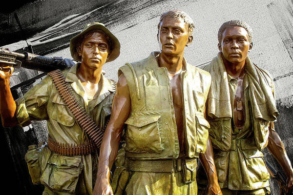 Photograph - The Three Servicemen  by Doc Braham