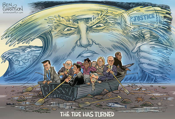 Drawing - The Tide Has Turned by GrrrGraphics ART