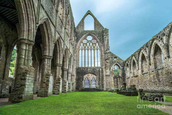 Wales Wall Art - Photograph - The Tintern Abbey Church, First by Matthi