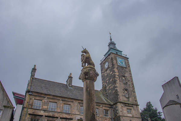 Photograph - The Tolbooth And The Mercat Cross - Stirling Scotland by Bill Cannon