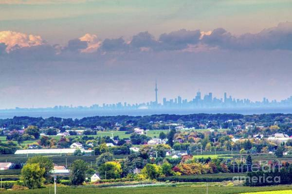 Photograph - The Toronto Skyline by Jim Lepard
