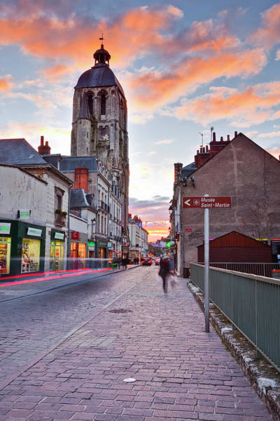 The Clock Tower Photograph - The Tour De Lhorloge In The City Of by Julian Elliott Photography