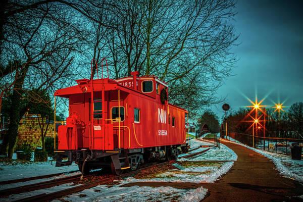 Warrenton Wall Art - Photograph - The Train Depot by Alfredo Alegrett