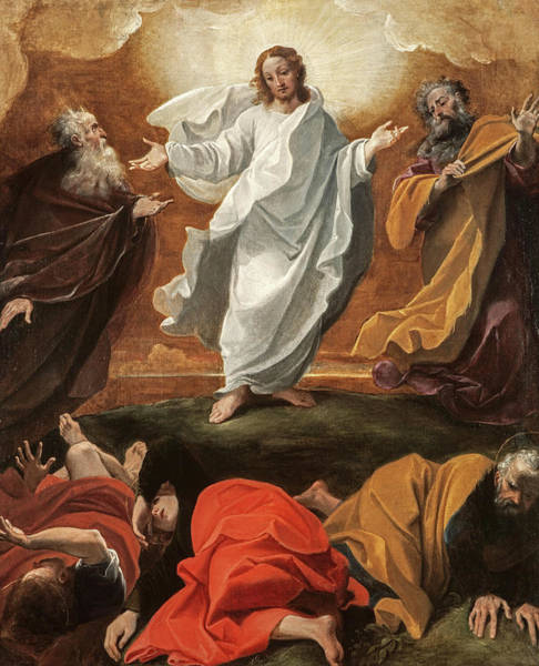 Wall Art - Painting - The Transfiguration, 1590 by Ludovico Carracci