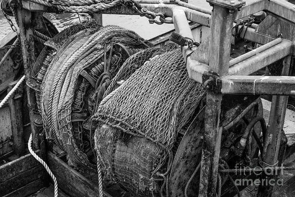 Photograph - The Trawl Winch by Brian Roscorla