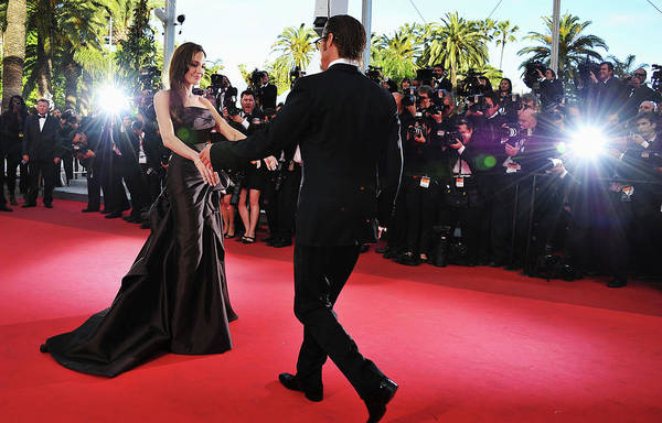 Cannes Photograph - The Tree Of Life Premiere - 64th Annual by Pascal Le Segretain