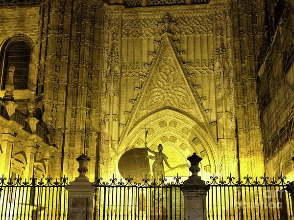 Catedral De Sevilla Wall Art - Photograph - The Triumph Of Faith In Seville by John Rizzuto