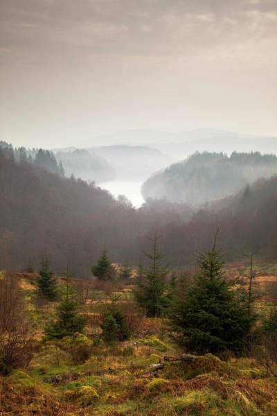 The Trossachs Wall Art - Photograph - The Trossachs by Empato