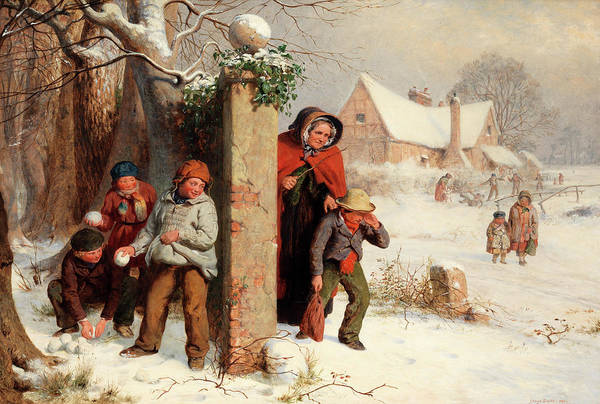Bully Painting - The Truant by George Smith