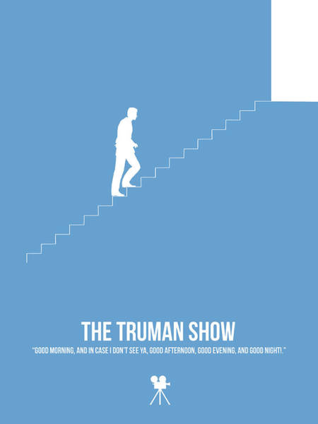 Wall Art - Digital Art - The Truman Show by Naxart Studio