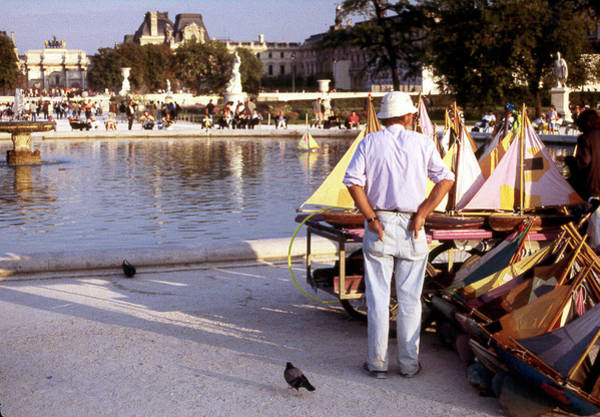 Photograph - The Tuileries Boatman  by Rein Nomm