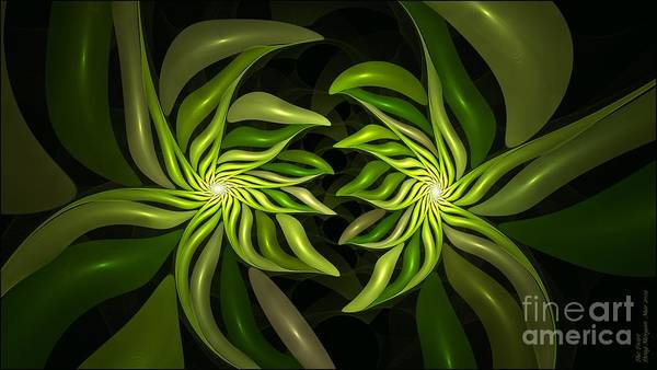 Digital Art - The Twist by Doug Morgan