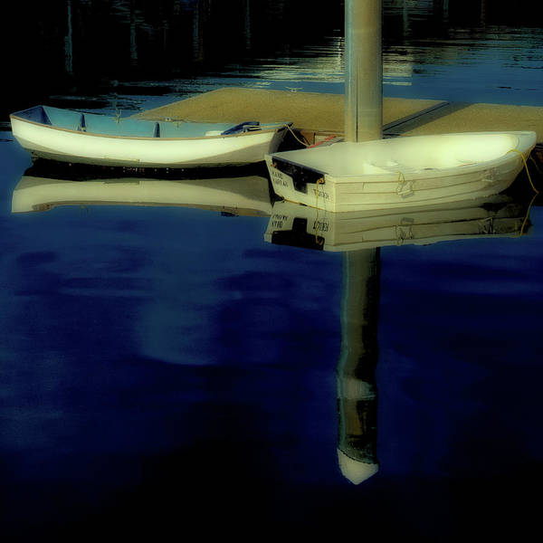 Photograph - The Two Boats by David Patterson