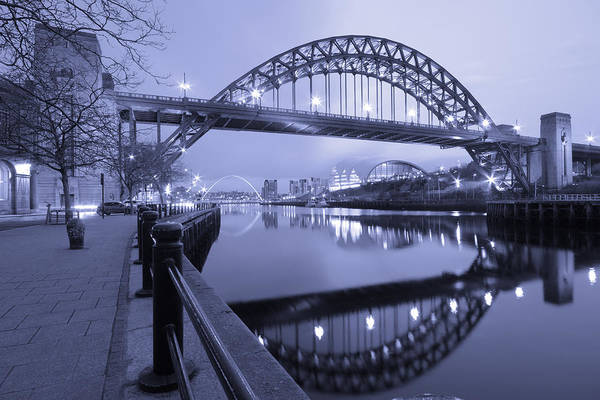 Wall Art - Photograph - The Tyne Bridge, Newcastle, Tyne And Wear by Rob Cole