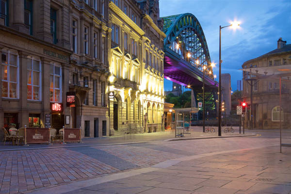 Wall Art - Photograph - The Tyne Bridge, Sandhill, Newcastle, Tyne And Wear by Rob Cole
