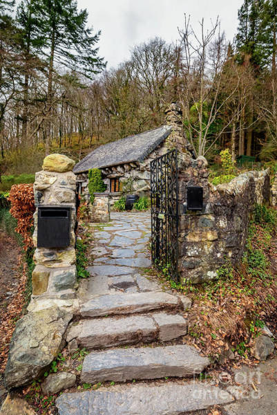 Wall Art - Photograph - The Ugly House Snowdonia by Adrian Evans