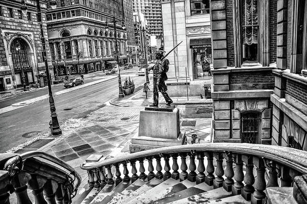 Wall Art - Photograph - The Union League Of Philadelphia In Black And White by Bill Cannon