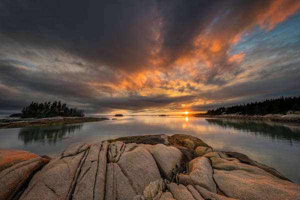 Stonington Photograph - The Unique Maine Coast by Martin Radigan