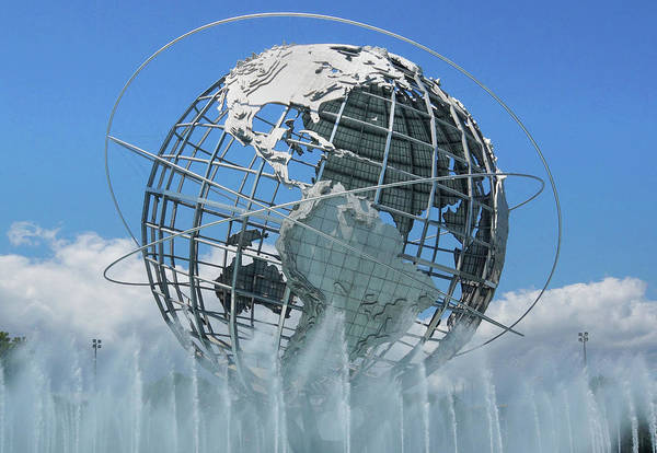 Photograph - The Unisphere by Cate Franklyn