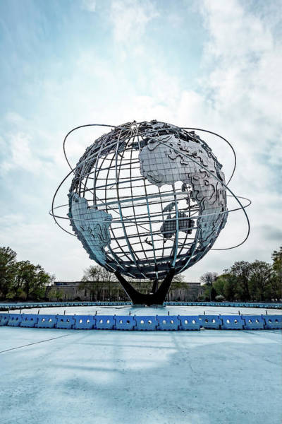 Photograph - The Unisphere by Kay Brewer