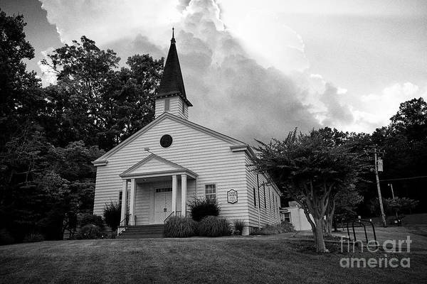 Wall Art - Photograph - The United Church Known As The Chapel On The Hilll Built To A Design By The Us Army As Part Of The M by Joe Fox