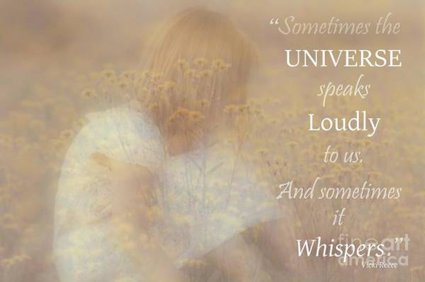 Photograph - The Universe Speaks by Mary Lou Chmura