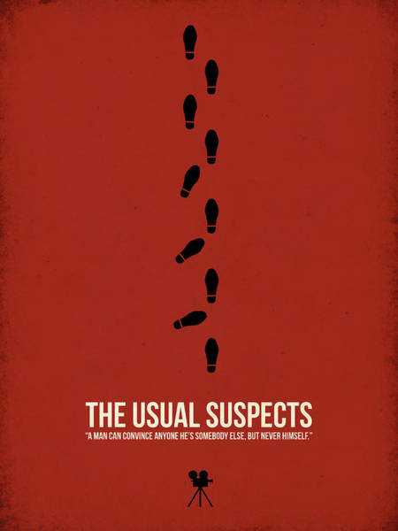 Wall Art - Digital Art - The Usual Suspects by Naxart Studio