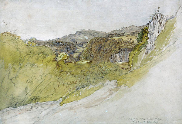 Wall Art - Painting - The Valley Of Dolwyddelan - Digital Remastered Edition by Samuel Palmer