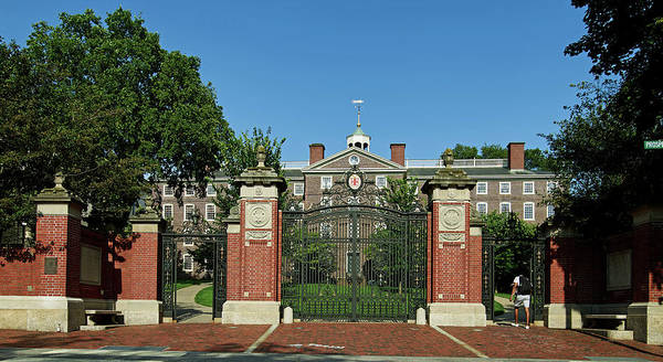 Wall Art - Photograph - The Van Wickle Gates At Brown University by Library Of Congress