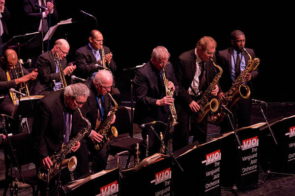 Photograph - The Vanguard Jazz Orchestra 3 by Lee Santa