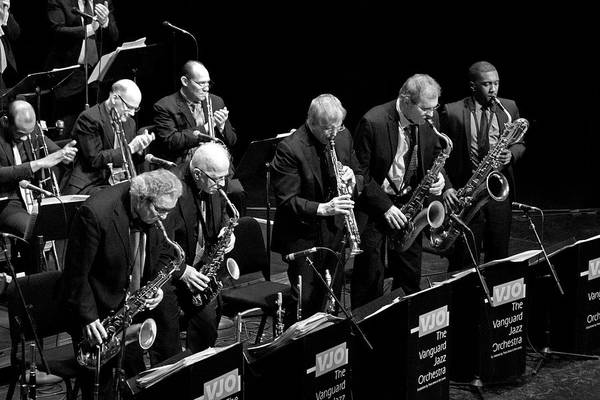 Photograph - The Vanguard Jazz Orchestra 4 by Lee Santa