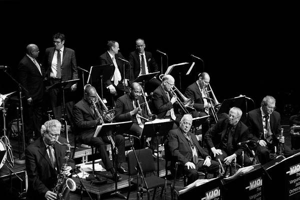 Photograph - The Vanguard Jazz Orchestra 6 by Lee Santa