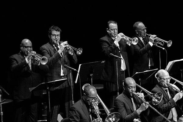 Photograph - The Vanguard Jazz Orchestra 8 by Lee Santa