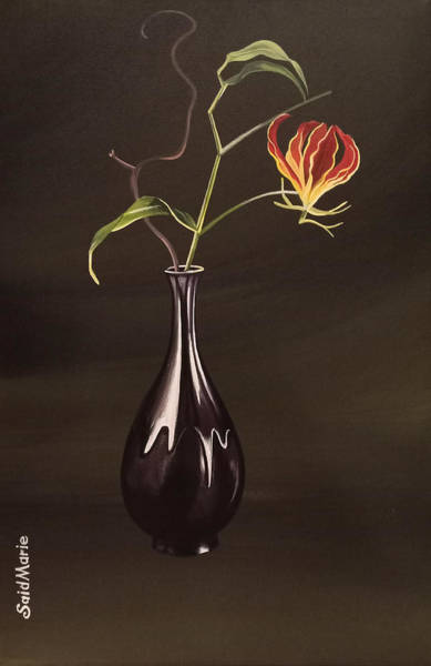 Painting - The Vase by Said Marie