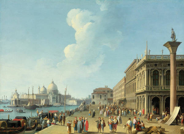 Wall Art - Painting - The Venice by Giovanni Battista Cimaroli