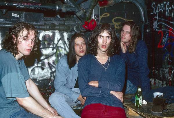 Jim Richards Photograph - The Verve Poses For A Portrait by Jim Steinfeldt