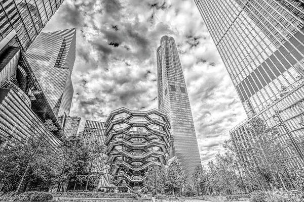 Wall Art - Photograph - The Vessel Hudson Yards  by Geraldine Scull